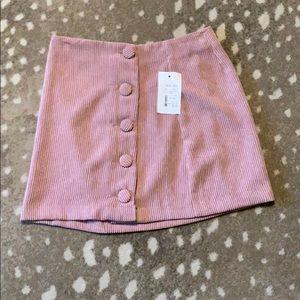 Wild honey corduroy mini skirt